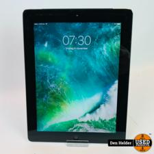 Apple Apple iPad 4 32GB Zwart Wifi + 4G - In Prima Staat