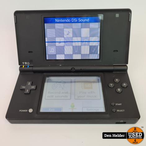 Nintendo DSI Spelcomputer Black - In Prima Staat