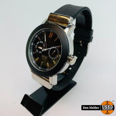 Esprit Heren Horloge Zwart - In Prima Staat