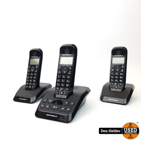 Motorola S1213 Startac Trio Handset Zwart - In Prima Staat