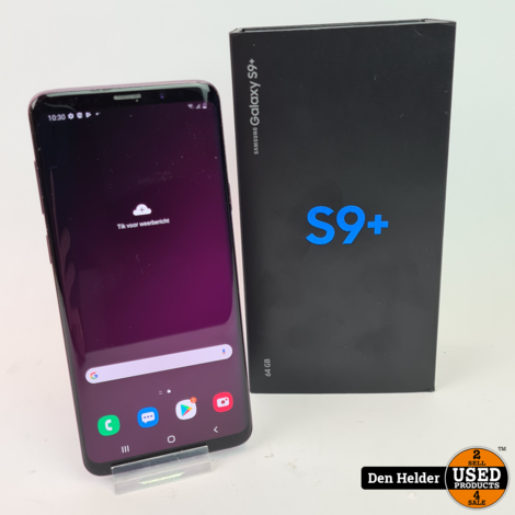 Black Friday Deal ! Samsung Galaxy S9 Plus Rose - In Goede Staat