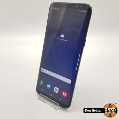 Samsung Galaxy S8 Plus 64GB Zwart - In Prima Staat