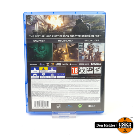 Call of Duty Modern Warfare PS4 Game - In Prima Staat