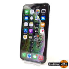 Apple Apple iPhone XS 256GB Zwart Face ID Defect - In Nette Staat