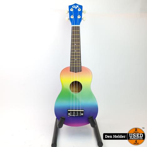 CLXmusic Ukelele (Rainbow Air) - Nieuw