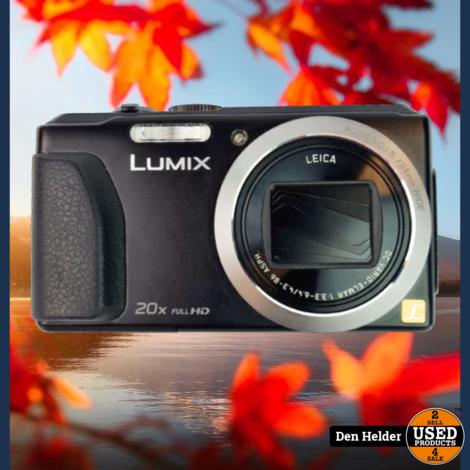 Panasonic Lumix DMC-TZ37 Digitale Camera Full HD - In Uitstekende Staat