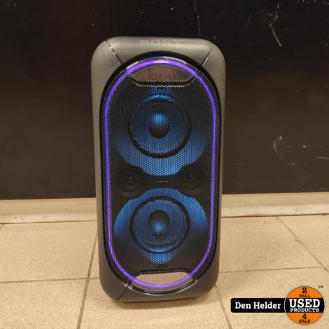 Sony GTK-XB60 Bluetooth Speaker Op Accu - In Goede Staat