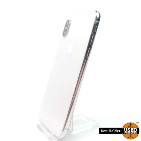 Weg = Weg Deal! Apple iphone X 64GB Silver 92 Accu Conditie - In Nette Staat