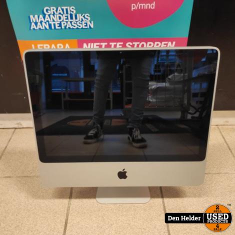 Apple iMac 2009 Dual Core 4GB 320GB HDD Geforce 9400 - In Nette Staat