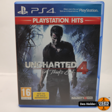 Uncharted A Thief's End PlayStation Hits PS4 Game - In Prima Staat
