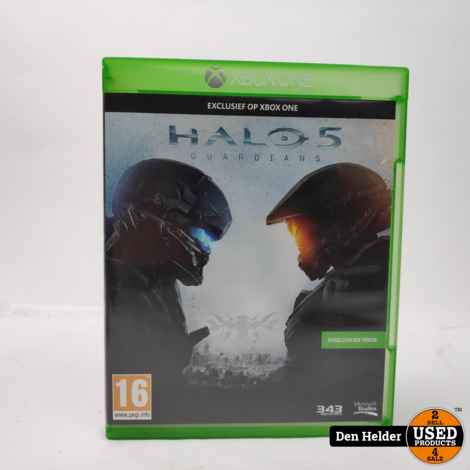 Halo 5 Guardians Microsoft Xbox One Game - In Prima Staat