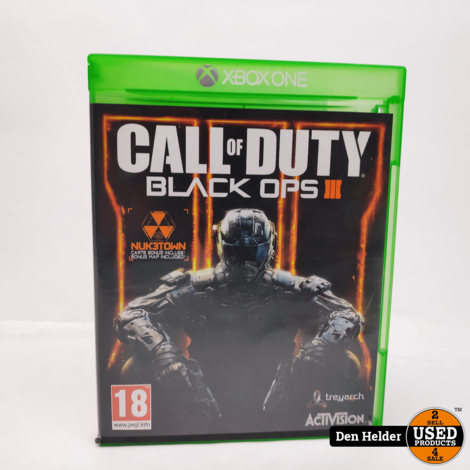 Call of Duty Black Ops 3 Microsoft Xbox One Game - In Nette Staat