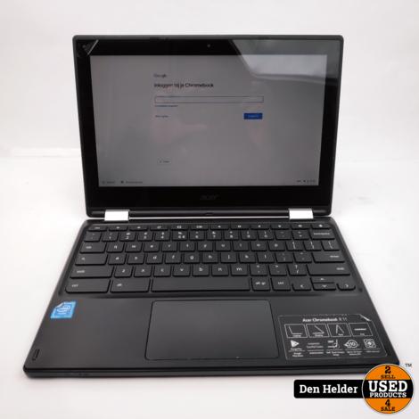 Acer Chromebrook R11 32GB Kantelbaar Touchscreen - In Prima Staat