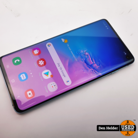 Samsung Galaxy S10 128GB Blauw - In Prima Staat