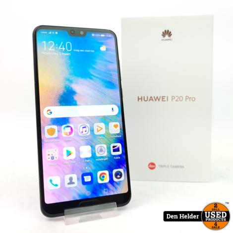 Huawei P20 Pro 128GB Zwart - In Nette Staat