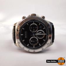 Hugo Boss HB.375.1.14.3366 Heren Horloge - In Goede Staat