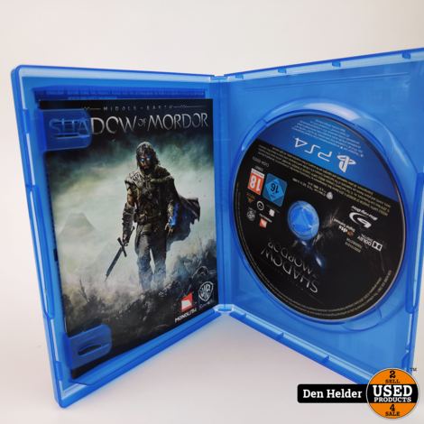 Shadow Of Mordor PS4 Game - In Nette Staat
