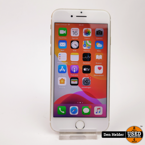 Apple iPhone 7 32GB Accu 100% - In Prima Staat