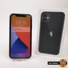 Apple Apple iPhone 11 64GB Accu 94% Zwart - In Prima Staat