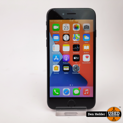 Apple iPhone 7 32GB Zwart Accu 100 - Touch ID Defect