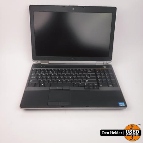 Dell E6530 Windows 10 Laptop i7 2e Generatie 8GB 500GB - In Prima Staat