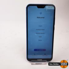 Huawei Huawei P20 Lite 64GB Blauw - In Prima Staat
