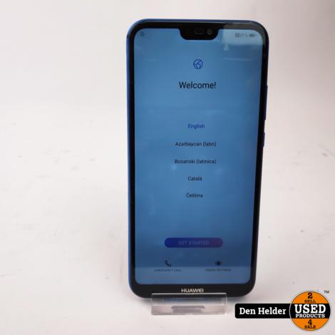Huawei P20 Lite 64GB Blauw - In Prima Staat