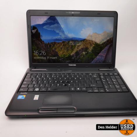 Toshiba Satellite C660-108 Windows 10 Laptop i3 4GB 500GB - In Prima Staat