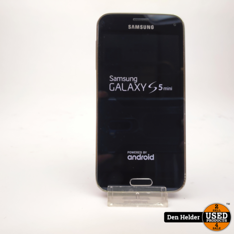 Samsung Galaxy S5 Mini 16GB Zwart - In Prima Staat