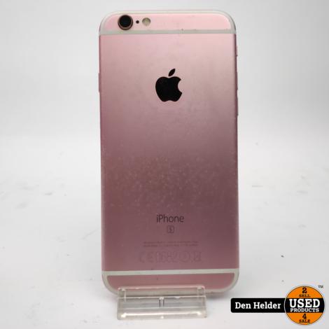 Apple iPhone 6S 16GB Rose Gold Accu 100 - In Prima Staat