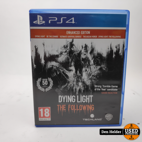 Dying Light PS4 Game - In Prima Staat