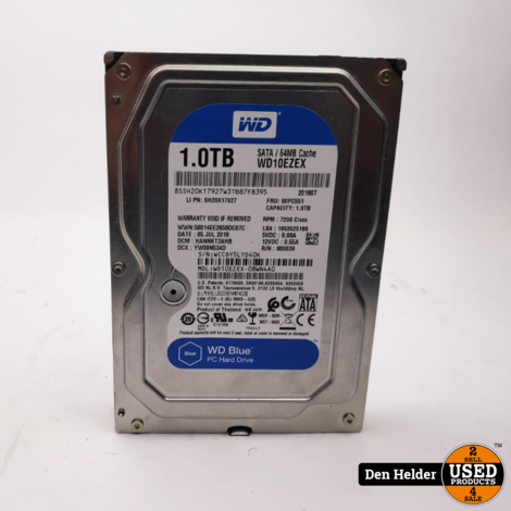 WD Elements 1TB Sata HDD - In Prima Staat