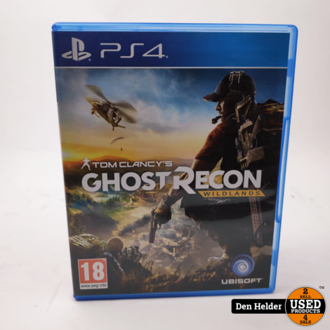 Tom Clancy's Ghost Recon Wildlands PS4 Game - In Prima Staat