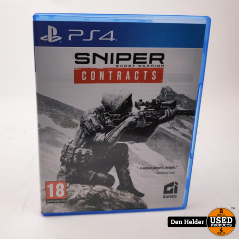 Sniper Ghost Warrior PS4 Game - In Prima Staat