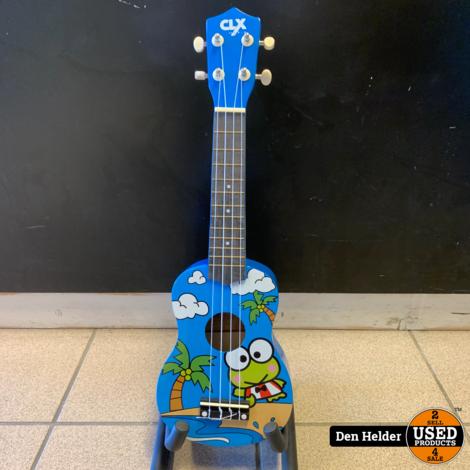 CLXmusic Ukelele (Frog) - Nieuw
