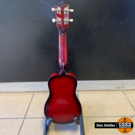 CLXmusic Ukelele (Redburst) - Nieuw