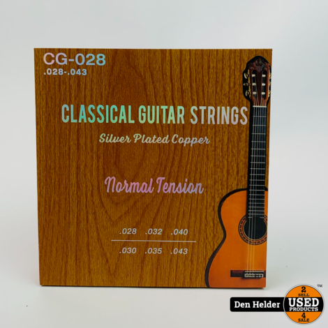 Strings Nylon Silver Plated Normal Tension - Nieuw
