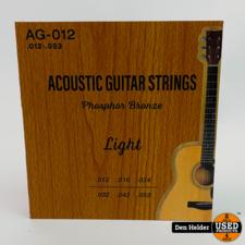 Strings Acoustic Phosphor Bronze .012-.053