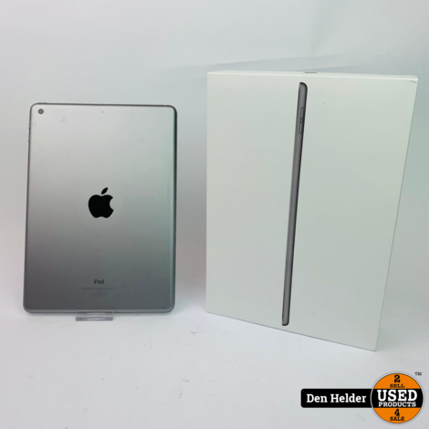Apple iPad 2018 32GB Wifi Space Gray - In Prima Staat