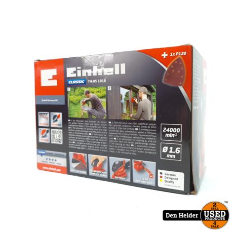 Einhell TH-OS 1016 Schuurmachine 100W - Nieuw
