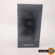 Samsung Samsung Galaxy S21 5G 128GB Phantom Gray - Nieuw Geseald