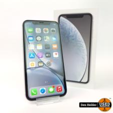 Apple Apple iPhone XR 64GB Wit  Accu 100 - Zo Goed Als Nieuw - Apple Care