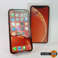 Apple Apple iPhone XR 64GB Coral Accu 95 - In Prima Staat