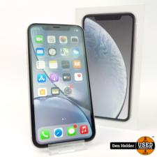 Apple Apple iPhone XR 64GB Wit Accu 86 - Zo Goed Als Nieuw