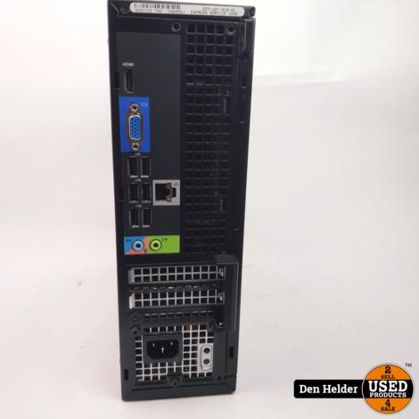 Dell D04S Desktop PC i3 2e Gen 4GB 120GB SSD