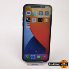 Apple Apple iPhone X 64GB Space Gray Accu 82 - In Nette Staat