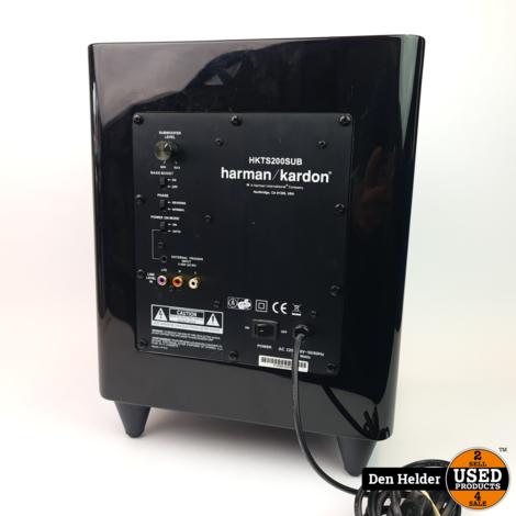 Harman Kardon HKTS200SUB 200 Watt Subwoofer - In Goede Staat