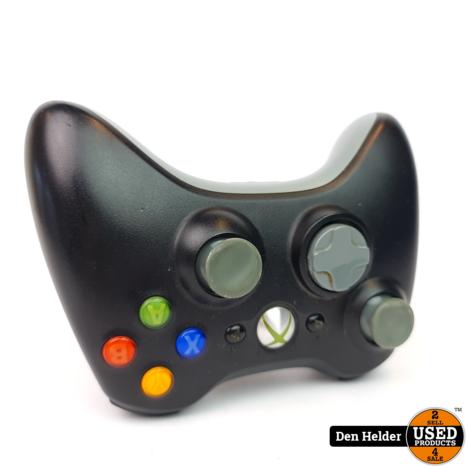 Microsoft Xbox 360 Wireless Controller Zwart - In Nette Staat