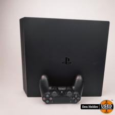 Sony PlayStation 4 Pro 1TB Zwart - In Nette Staat