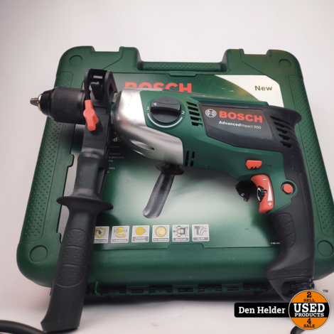 Bosch Advancedimpact 900 Boormachine - In Nette Staat